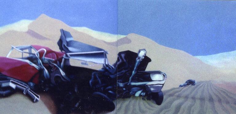 Autounfall in der Wasserwüste