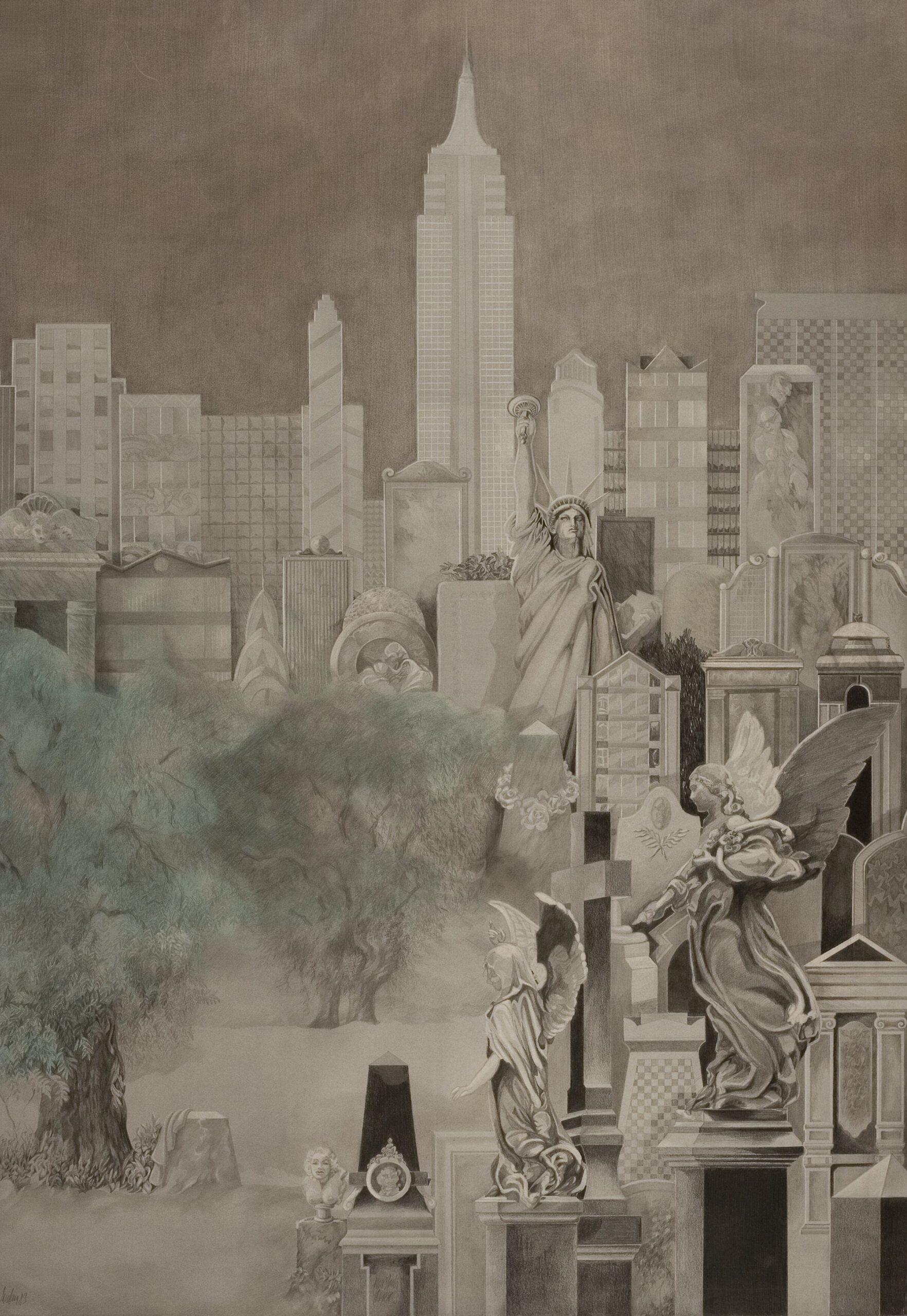 Friedhof NYC - Amerika-Zyklus